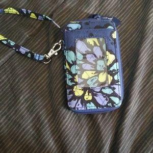 Vera Bradley Wristlet ID Wallet